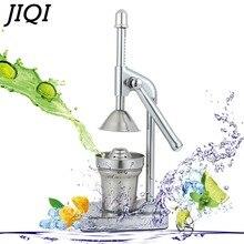 JIQI фрукты ручная соковыжималка апельсиновый лимон цитрусовый сок медленное прессование экстрактор Коммерческая Машина из нержавеющей стали