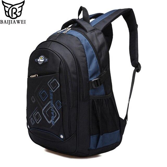 BAIJIAWEI Children School Bags For Girls and Boys High Qualit Children Backpack In Primary School Backpacks Mochila Infantil Zip