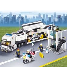 511 PCS DIY Police Set Series Vehicle Doll Building Brick Blocks Minifigure Baby Education Toy Gift Building Blocks Set Legoe