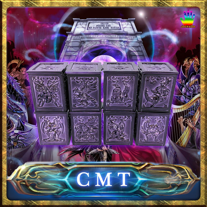 CMT Jacksdo specter hades pandora box Saint seiya myth cloth cmt jacksdo saint seiya soul of god bronze pandora boxes full set