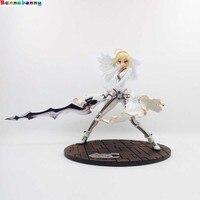 2018 Anime Fate/stay Night GSC EXTRA CCC Saber Sposa bianco Action figure PVC 23 cm model collection destino notte ragazza figura bambola