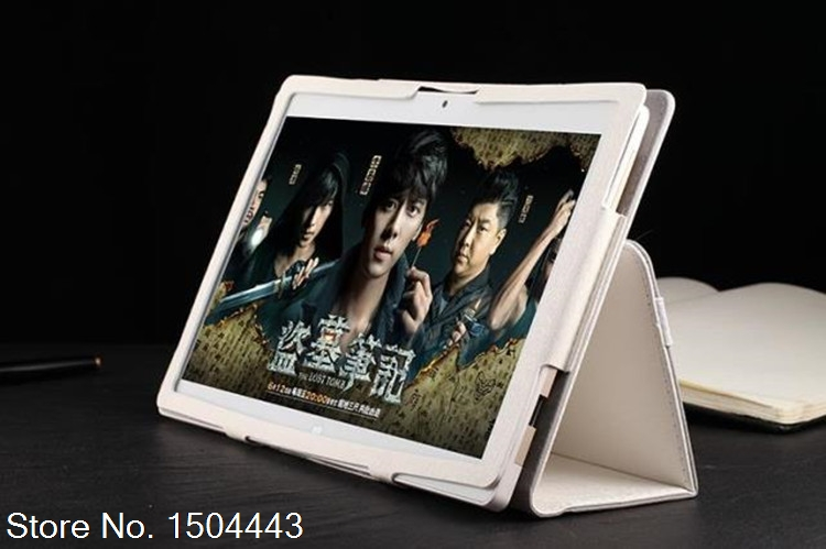3in1 New 9.6 Slim Folding Folio Skin Cover Case for 3G 4G Lte Tablet PC 9.6 inch MTK8752 Android 5.1 Camera Tablet