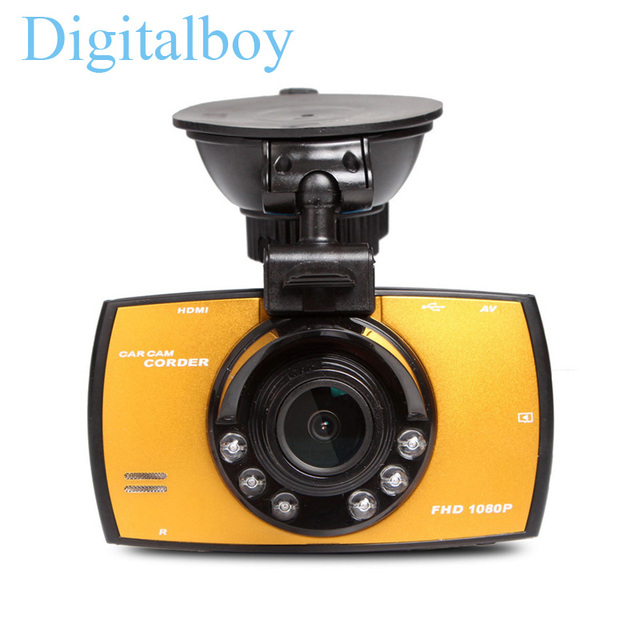 "Dash Cam Full HD 1080P 2.7"" Car Dvrs G30 Novatek NT96220 Car Camera Recorder With Motion Detection Night Vision G-Sensor Car Dvr"