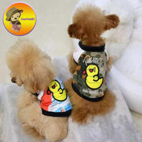 Four Pattern Spring AutumnL Puppy Coat Dog Jacket Jackets Pet Clothes Dogs Hoodies Clothing Pets Baseball