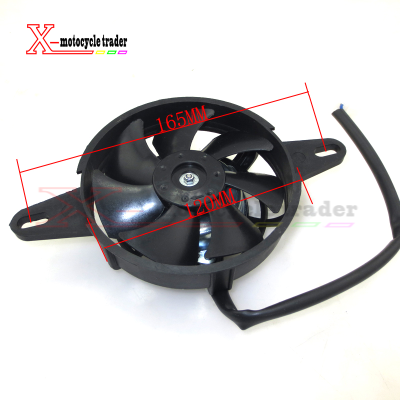 Oil Cooler Water Cooler New Electric Radiator Cooling Fan for 200 250 cc Chinese ATV Quad Go Kart Buggy Dirt Bike Motorcycle go-kart