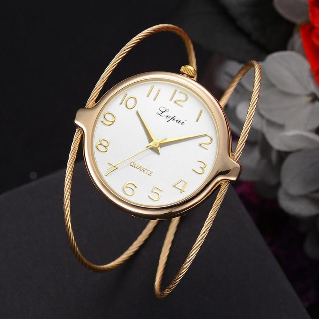 Lvpai Women's Casual Quartz Bracelet Watch Analog Wrist Watch Relogio Feminino Women Watches Reloj Mujer Bayan Kol Saati Relogio