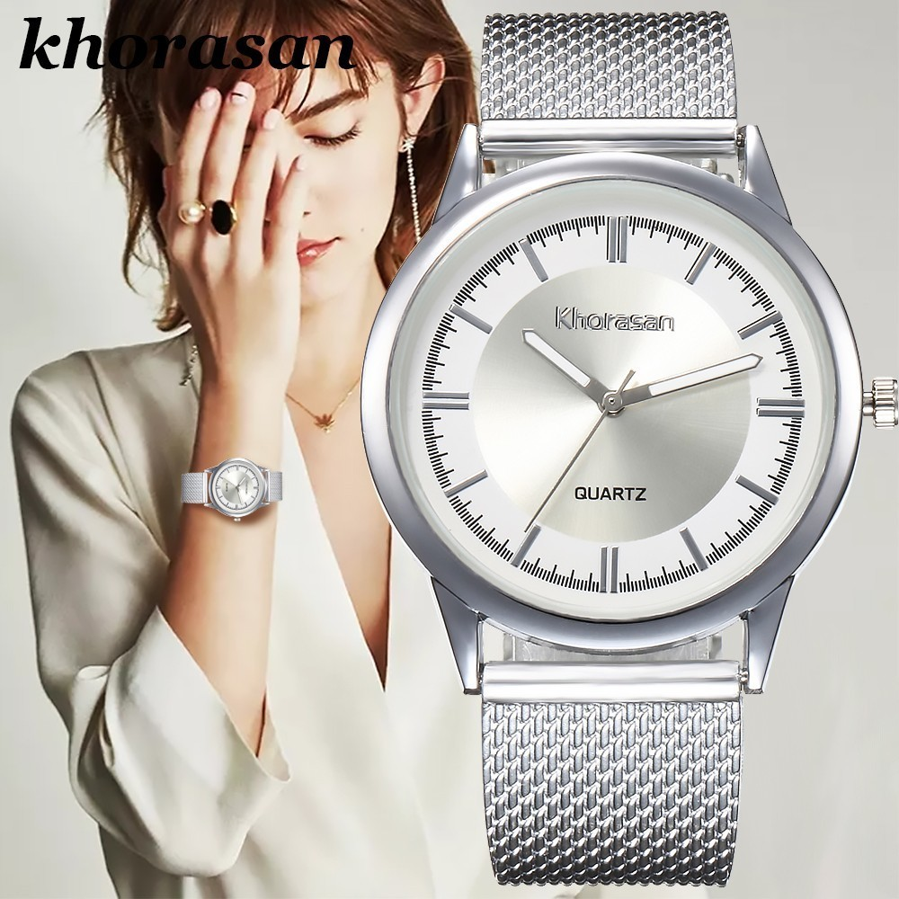 Hot Luxury Brand Women's Casual Plastic Strap Band Watch Analog Wrist Watches Alloy Quartz Female Clock Montre Femme Reloj Mujer