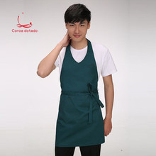 Work clothes apron Korean version fashion custom logo milk tea coffee western restaurant kitchen chef