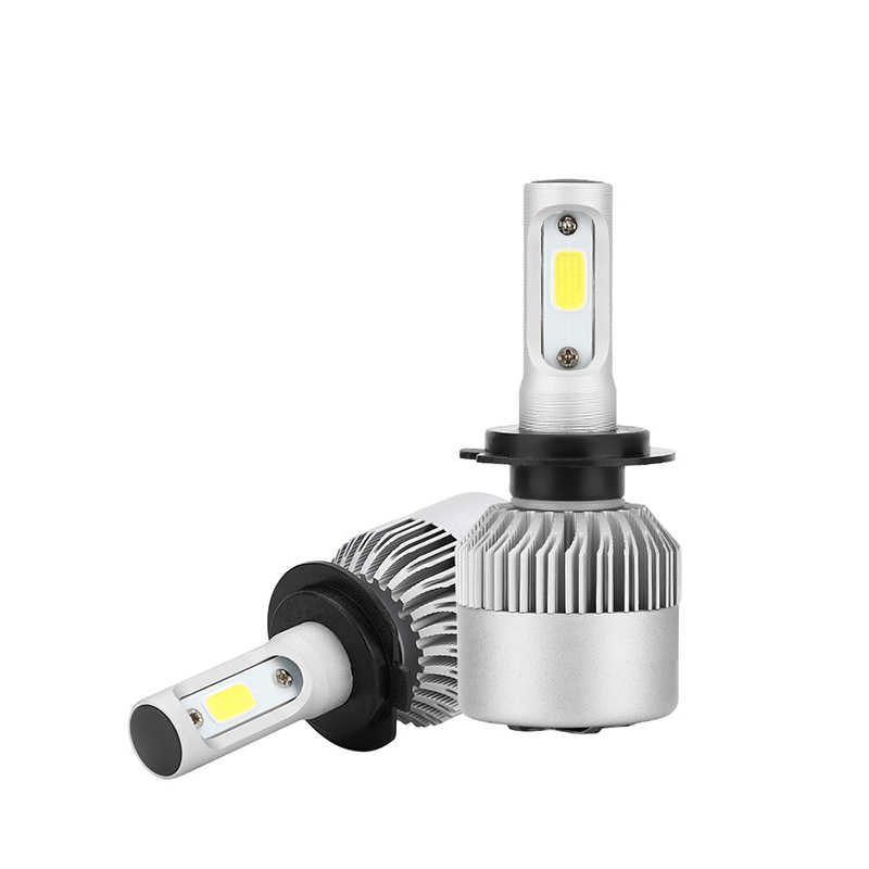 H7 LED H4 Car headlight bulb 9005 9006 36W 6000k led fog light 12V 24V 7000rpm fan H11 H3 H4 H27 880 881 9004 9007 H13 HB1\2\3\4