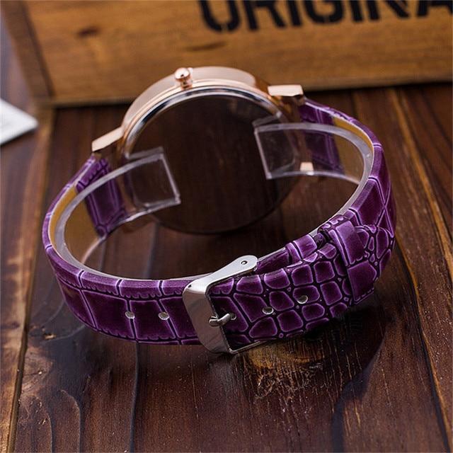 2019 Fashion Leather Strap Women analog Rhinestone Watch Casual Women Dress Watches Watched Relogio Feminino montre femme