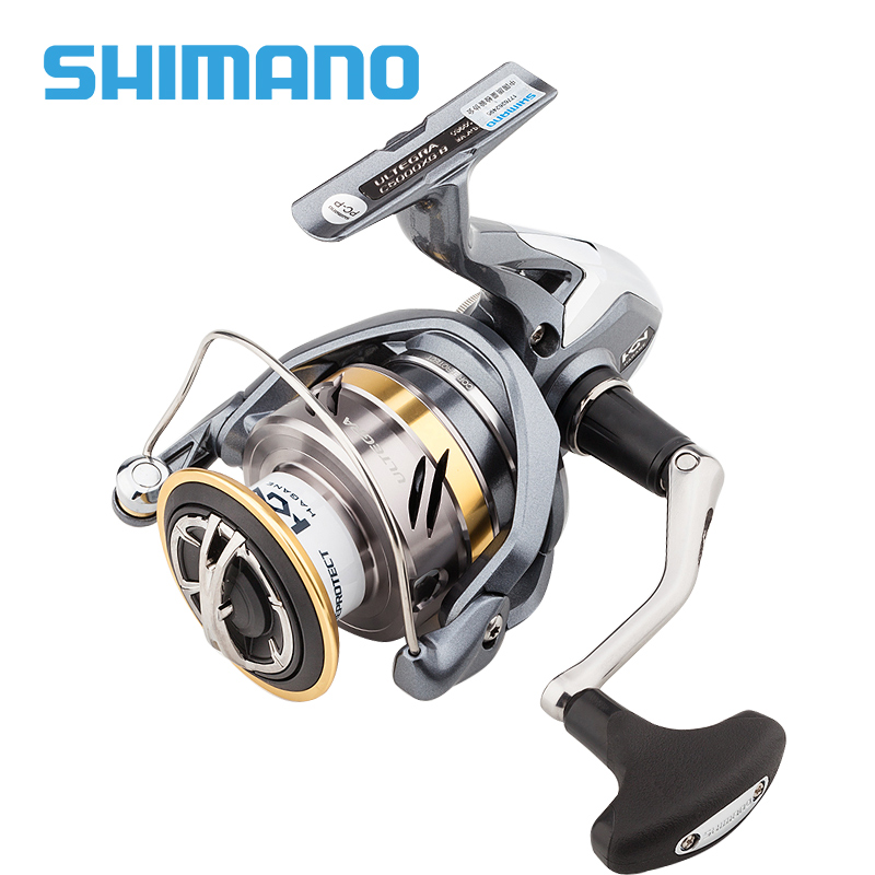 Shimano ULTEGRA FB Spinning Fishing Reel 1000 2500 C3000 4000 6BB Gear Ratio 5 0 1