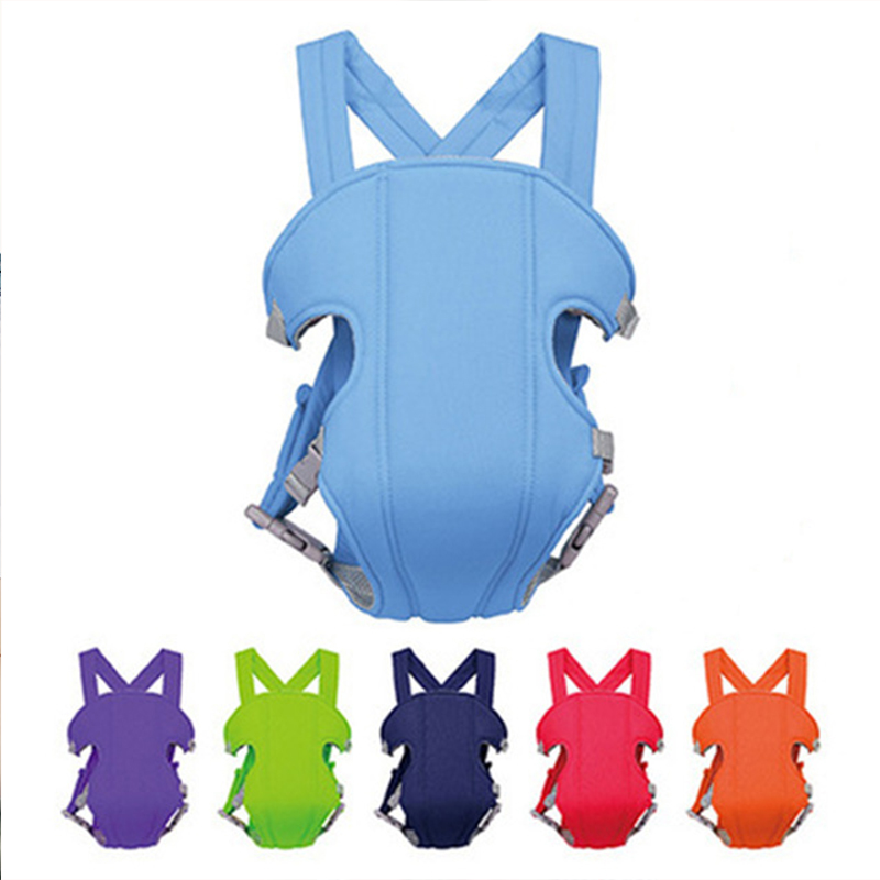 Infants Front Backpack Baby Adjustable Cotton Backpacks Newborn 3 In 1 Multifunction Safe Sling Kids 6 Colors Safe Care Product