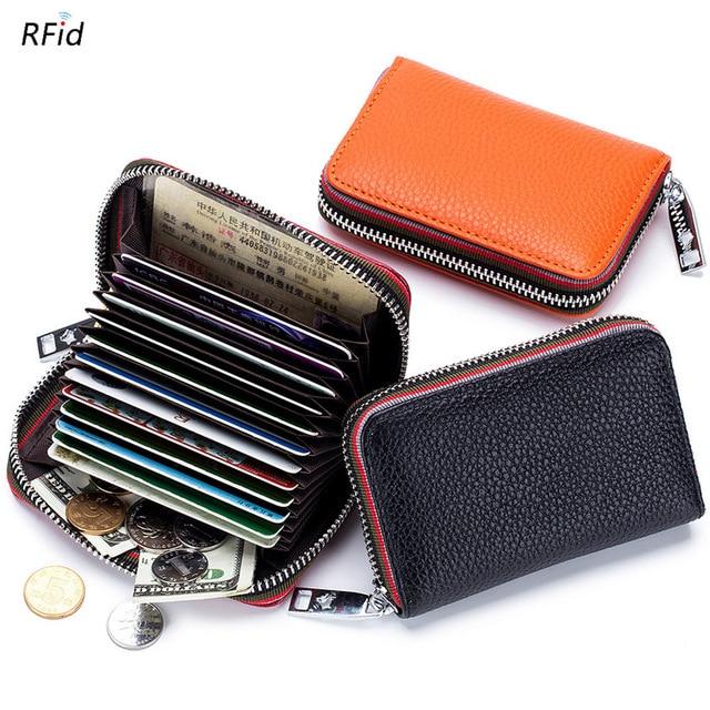 Zipper Credit Card Holder  1
