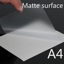 A4 Размер матовая ПВХ холодная ламинированная пленка, ламинированная ПВХ пленка