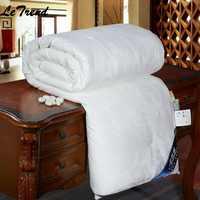 100% natural/amoreira seda consolador para o inverno/verão rei/tamanho personalizado completo edredon/cobertor/colcha branco/rosa/bege enchimento quente