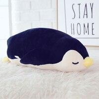 البطريق لينة الراحة وسادة أفخم لعبة الحيوانات لطيف kawaii دمى نفخة جيغانتي الفقرة dormir للأطفال oyuncak bebek 60G0255