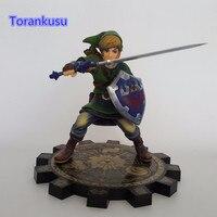 The Legend Of Zelda 1 7 Scale PVC Action Figure Anime Game Toy Zelda Link Skyward
