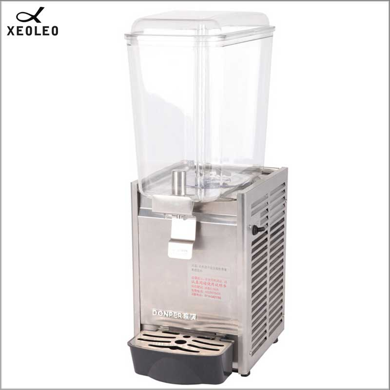 XEOLEO Single Tank Juice Dispenser 18LFountain Type Fruit Juice Dispenser Beverage Machine 200V Juice Dispenser Stainless Stell