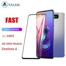 Tempered Glass For Asus Zenfone 6 5 2019 Max Pro M1 M2 ZB602KL ZB555KL ZC520KL ZC554KL ZE554KL ZS630KL 5 ZE620KL ZB631KL ZB633KL сотовый телефон asus zenfone 5 ze620kl 4 64gb midnight blue