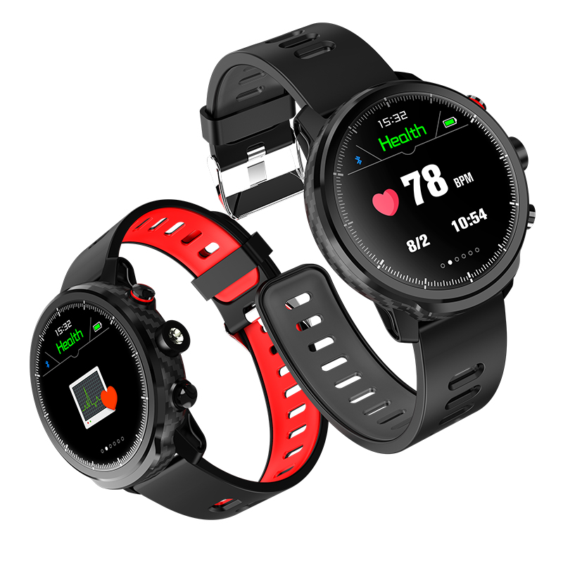 L5 Smart Watch I68 Waterproof Smart bracelet Android Wristband blood Pressure Heart Rate Call Reminder Fitness Activity Tracker image