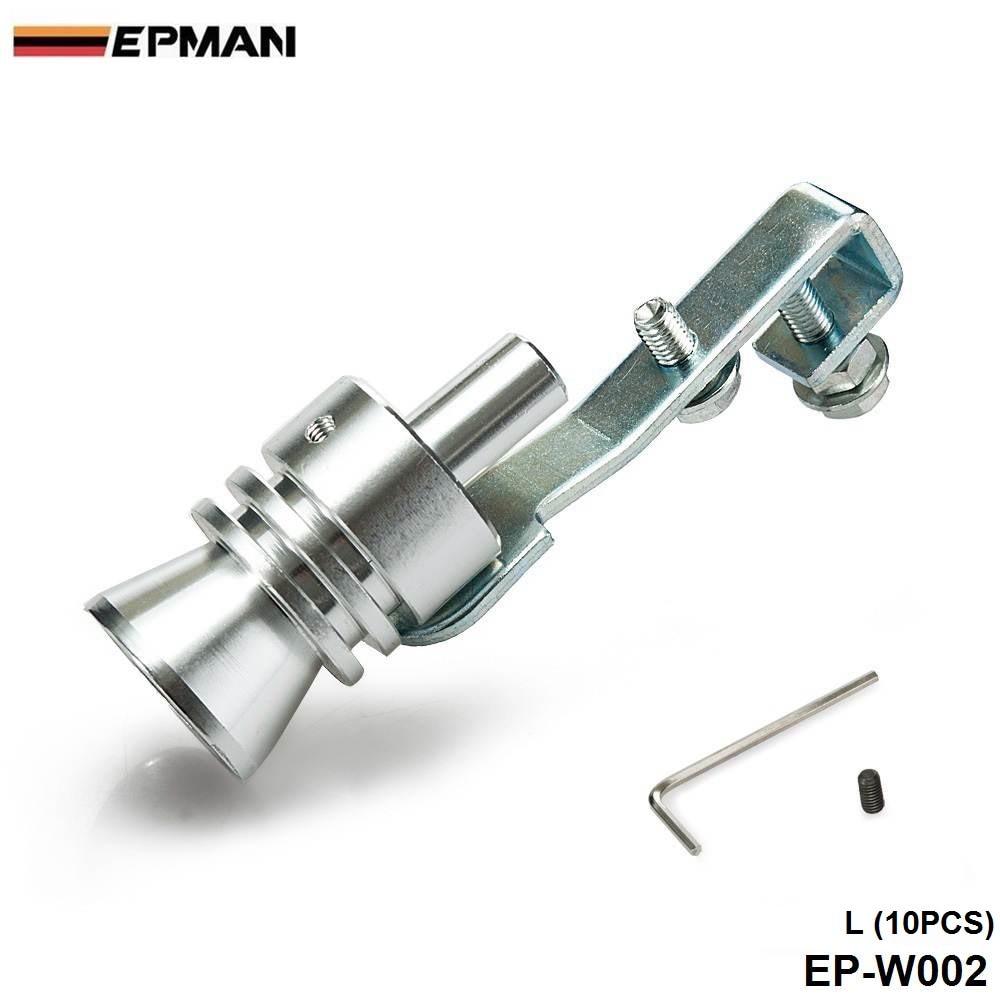 Размер L турбо свисток Bov звук симулятор удар глушитель выхлопной трубы 10 шт./лот EP-W002