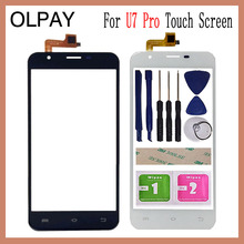 5.5 inch For Oukitel U7 Pro Touch Screen Digitizer Panel Front Outer Front Glass Lens Sensor Free Adhesive+Wipes