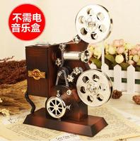 Projector Fonograaf Muziekdoos Speelgoed Hot selling Creative Verjaardagscadeau Voor Meisje Kind Vintage Woondecoratie Accessoires