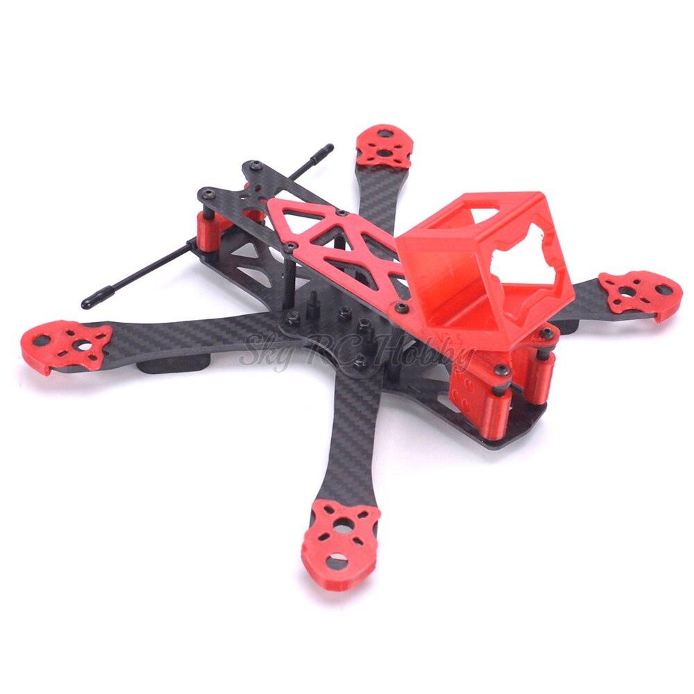 Alien RR5 5 pouces 225mm/RR7 7 pouces 300mm En Fiber De Carbone Quadcopter Cadre kit w/3D imprimé TPU Pièces pour Runcam 3 s Gopro Session