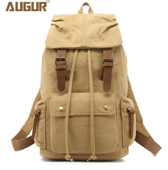 Vintage Canvas Backpack For Teenage Girls School Bag Travel Large Capacity Backpacks Bags