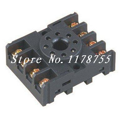 цена на Lot 20pcs Omron PF083A 8 Pin Mini Relay Socket Base For ST3P,DH48S,MK2P,JQX-10F-2Z,JTX-2C