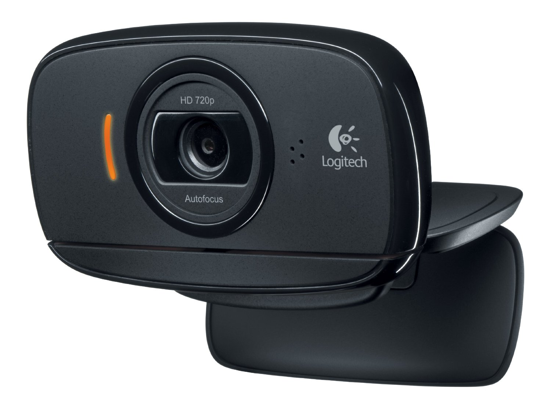 Logitech Webcam HD C525 Portable HD 720 p Appels Vidéo avec Autofocus