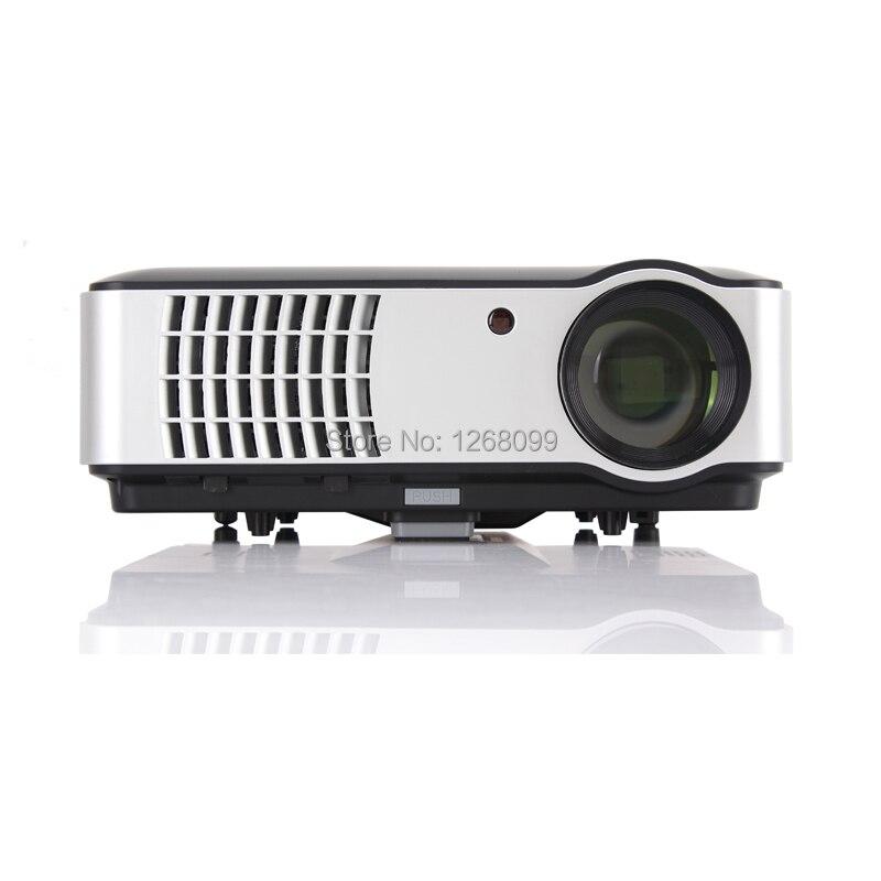 2017 Nuevo 5600 Lúmenes Smart TV Proyector Full HD 1080 P LED Proyector Envío Gr