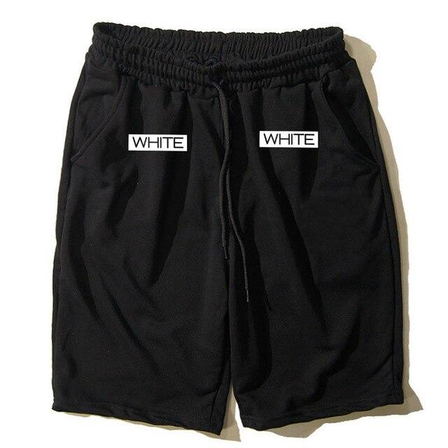Fashion Men Women Hip Hop Brand Off White Virgil Abloh Mesh Shorts Mens Casual Board Beach Shorts Casual Short Pants Boardshorts