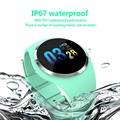 Мужские Смарт-часы с цветным экраном IP68 Водонепроницаемые часы с пульсометром и контролем за состоянием здоровья спортивные Смарт-часы
