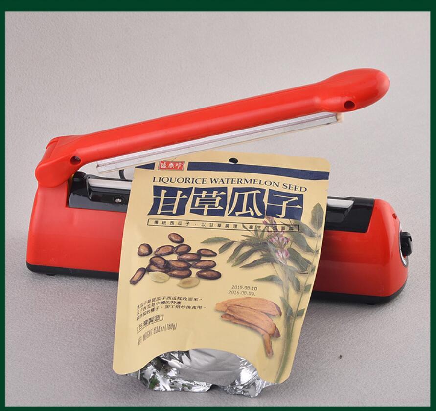 Obedient Food Sealer Plastic Bags Airtight Watertight Reseal Machine Aluminum Foils Package Close Medical Packing Tool