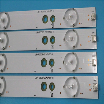 LED Backlight strip 9lamp For AOC LD40E01M T4002M 40 TV LED-40B800 LB-F3528-GJ40409-H G TPT400LA-J6PE1 LB-PF3528-GJD2P5C404X9-B new 20 pcs lot 9led led backlight strip for kdl 40r350b 40pft5300 40pfk4509 lb f3528 gj40409 h b lbm400p0901 lb40013 v0 04