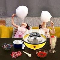 Mini Elektrische Diy Candy Floss Spun Zucker Maker Maschine Hause Süße Zucker Baumwolle Candy Maker Für Kinder Familie Geschenk Eu stecker-in Küchenmaschinen aus Haushaltsgeräte bei