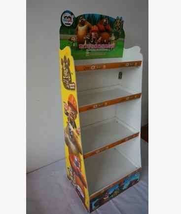 Exhibition Stand Shelves : Exhibition stand shelves isolated on white background stock photo