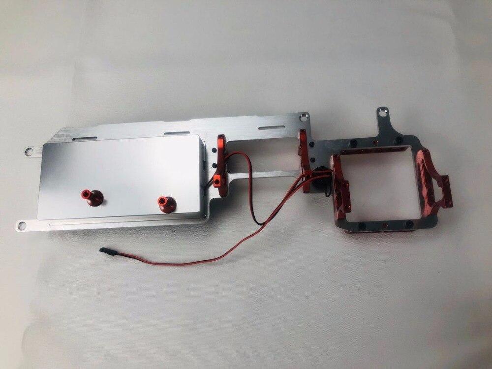 FID RACING CNC MACHINED ALLOY dual servo radio tray FOR LOSI 5IVE T KMX2 ROVAN LT