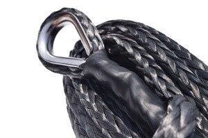 Image 3 - Siyah 10mm * 26m sentetik vinç halatı uzatma, ATV vinç kablosu, UHMWPE halat, çekme halatı araba