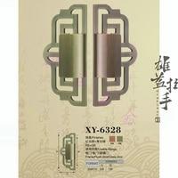 Вырезка ручка/Бронза Европейский современный/двери ручка/китайский антикварная стекла дверную ручку процесс