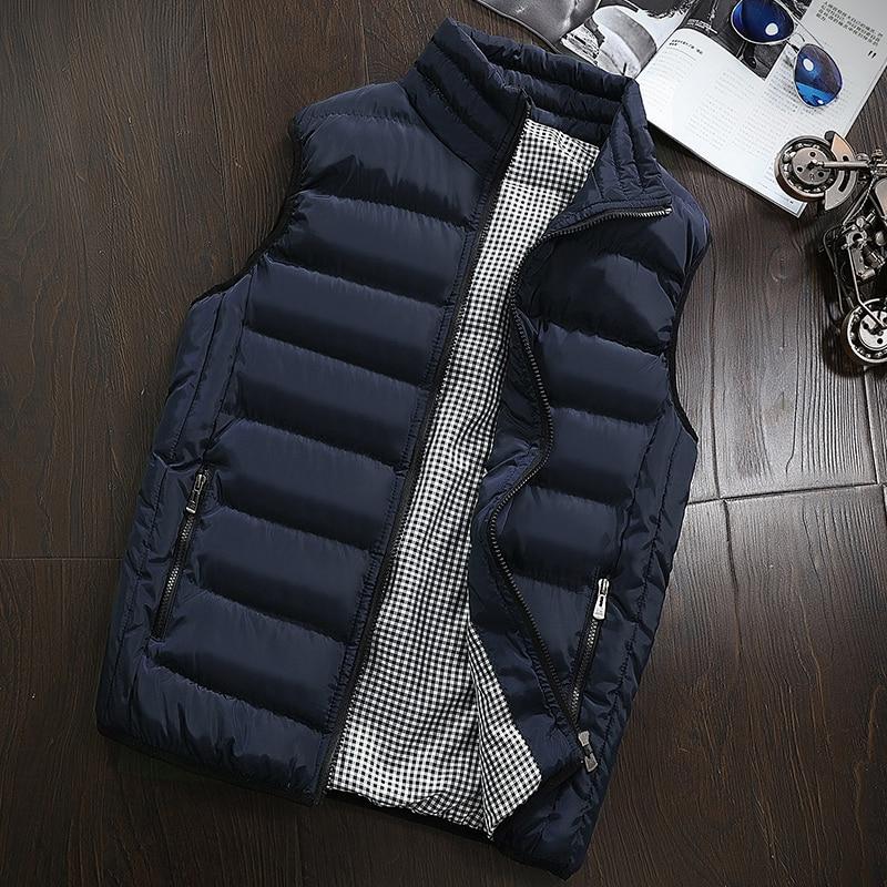 Men's Sleeveless Casual Vest Waistcoat 23