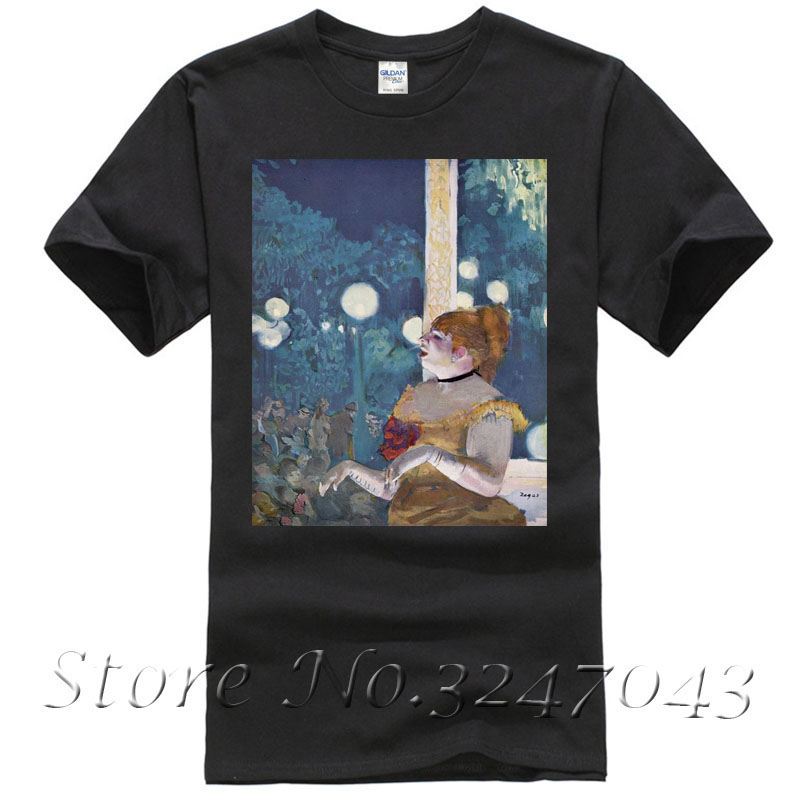 The Cafe Concert (The Song of the Dog) T Shirt by Edgar Degas Mens T-shirt