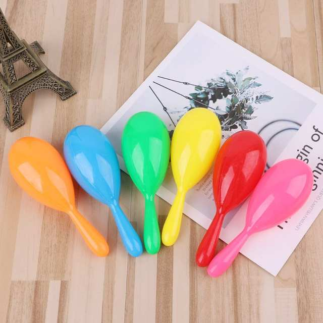 Us 535 17 Off24pcs Noise Maker Neon Maracas Fiesta Party Supplies Party Favors Noisemaker Mexican Party Decorations In Noise Maker From Toys