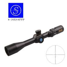 Фотография Shooter 4-16X44 FFP Riflescopes Hunting Optical Vision Tactics Airsoft Air Scopes Sniper Reticle Mira Reflex Holographic View