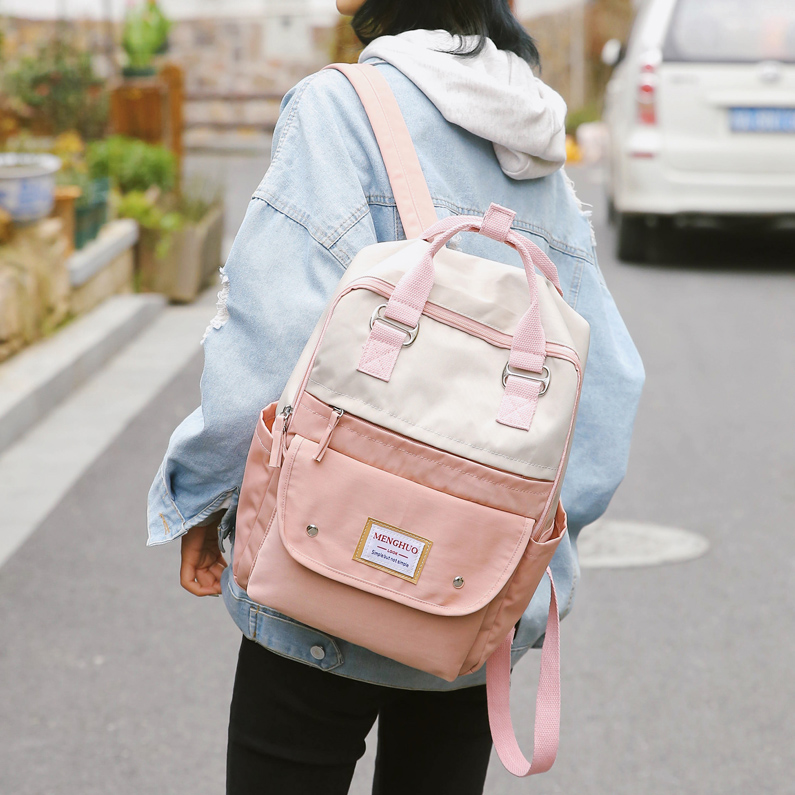 Backpack Women Laptop Backpack For 15 Inch Large School Backpacks Bag Mochila Mujer Feminine Female Travel Rucksack Bagpack Bags