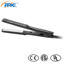FMK Dual Voltage Hair Straightener Nano titanium Flat Iron Fast Warm-up Thermostatic hair styling tools