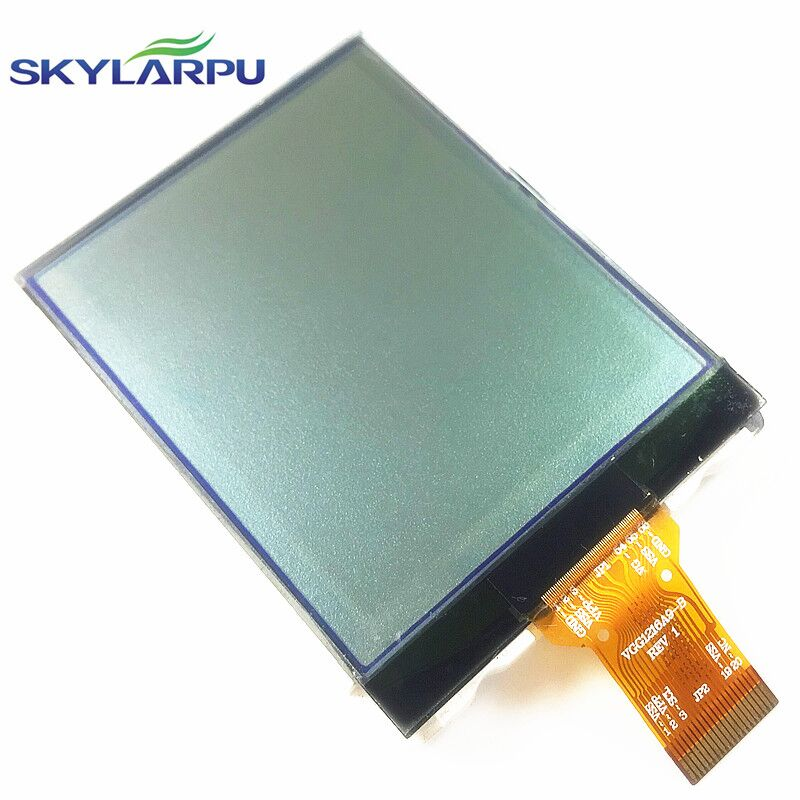 skylarpu 2.4 inch VGG1216A9-B REV 1 LCD Screen for GARMIN eTrex 10 Handheld GPS LCD display Screen panel Repair replacement skylarpu new for garmin etrex h etrexh handheld gps navigator lcd display screen panel free shipping