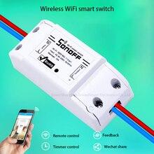 2016 Nova Sonoff Casa Inteligente Interruptor de Controle Remoto Sem Fio Wifi, Interruptor Do Temporizador Inteligente Diy Interruptor 220 V Controle Via IOS Android(China (Mainland))