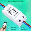 2016 Nova Sonoff Casa Inteligente Interruptor de Controle Remoto Sem Fio Wifi, Interruptor Do Temporizador Inteligente Diy Interruptor 220 V Controle Via IOS Android